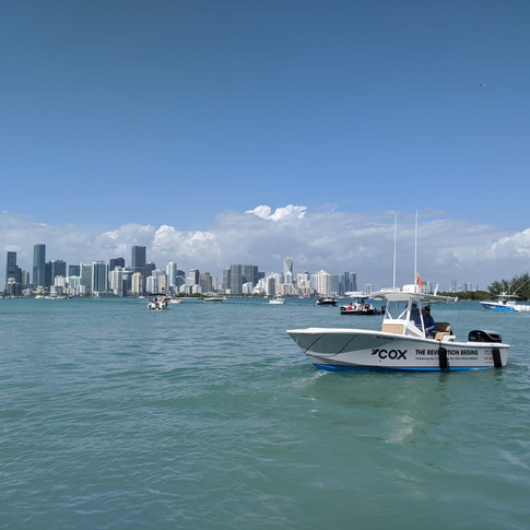 Miami Boat show 2020