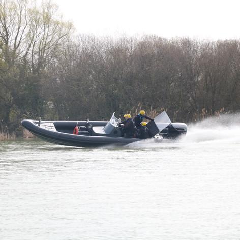 Testing the CXO300 at the UK DSEI