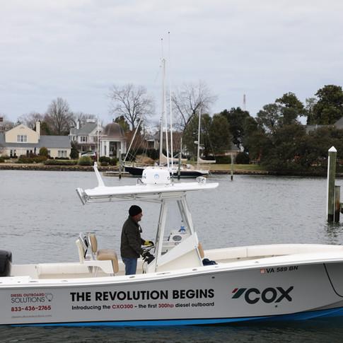 Miami Boat show public demo 2