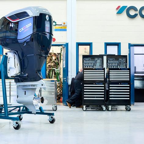 Workshop shot of the CXO300