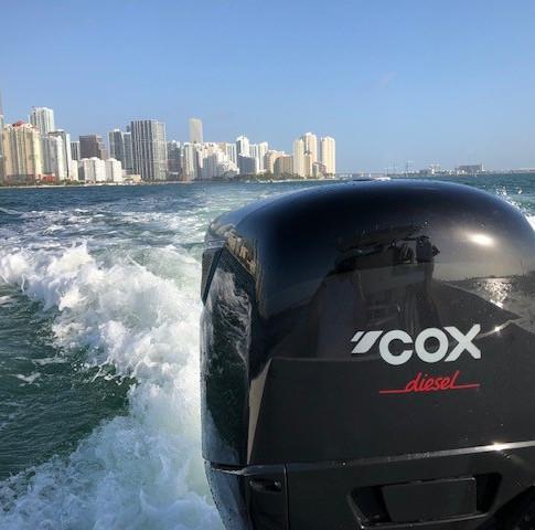 Close up of the CXO300