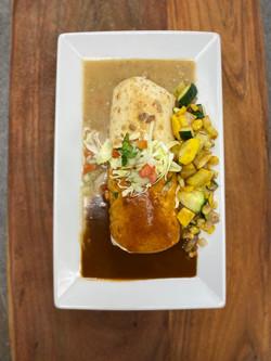 The Fork n' Frijole Burrito