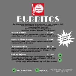 Signature Burritos 2021