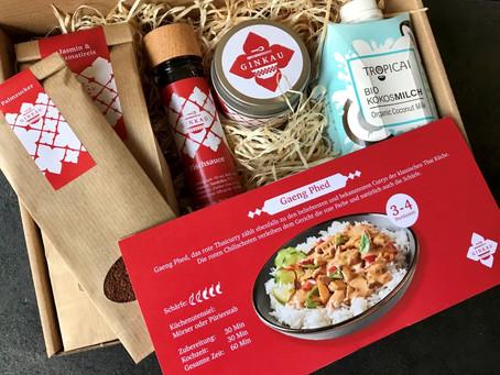 """Thaifood """"out of the box"""" - Thai Kochboxen von Ginkau"""