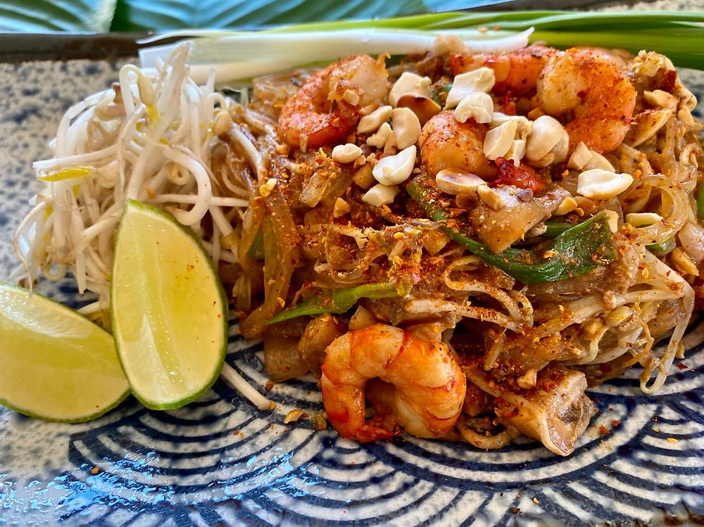 Pad Thai Serviervorschlag