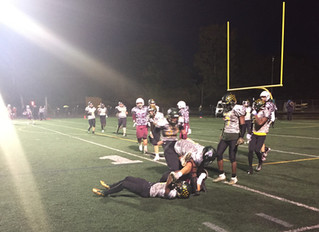 Football Coach Brendan Flaherty Scores His Hundredth Win