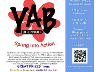 Teens Race to Make a Difference with YAB's First 5K Run/Walk FRANKLIN