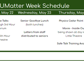 UMatter Week Comes to Groves