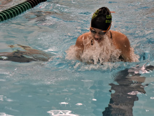 Girls swim team beats Seaholm at county meet, earns 1st place awards, and has 7 state qualifiers on