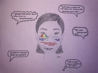 LGBTQ+ students need support as they leave privacy of virtual learning and face harassment at school