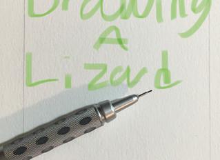 Tutorial: Drawing a Lizard