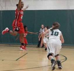 Grove's Girl's Varsity Basketball beats Oak Park to remain Undefeated