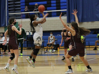 Despite Action Packed Plays, Girls Basketball Stands Remain Empty