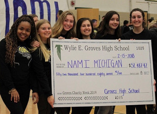 Groves' Students and Staff Raise Over $50,000 for Charity