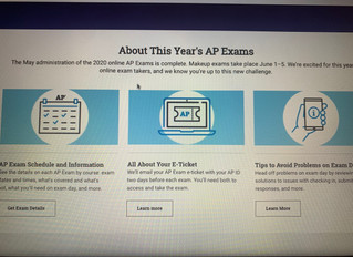AP exam focus on timed essays after Covid 19 increases stress of the tests