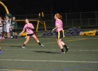 Juniors defeat seniors 20 to 17 in powderpuff game as part of homecoming contests this year
