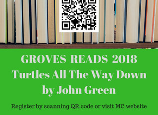 Groves Reads' First Book