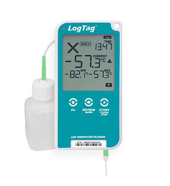 UTREL30-16 - 30 Day Low Temperature Logger Display