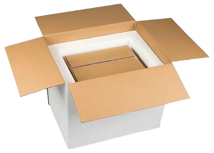 cold chain packaging unboxed
