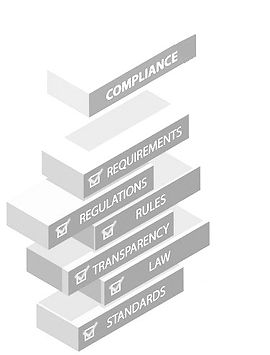 Compliance, requirements, regulations, rules, transparency, law, standards