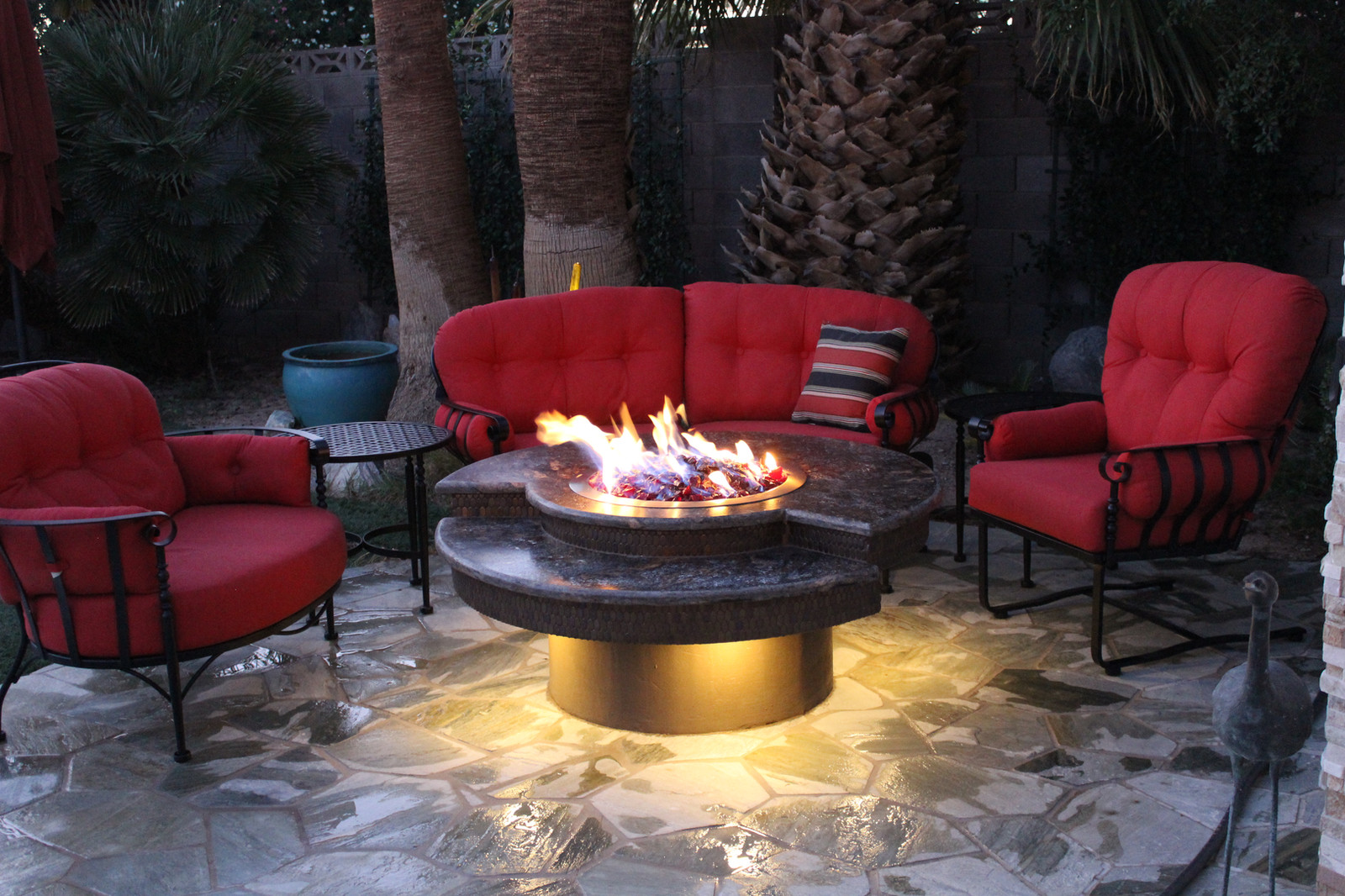 Fire pit bruce spangrud