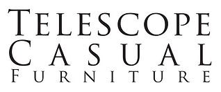 Telescope casual furniture logo