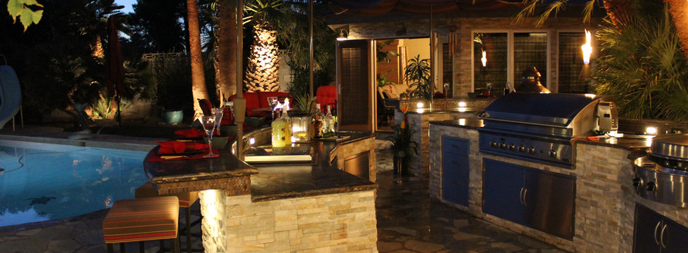 Outdoor kitchen - Bruce Spangrud