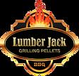 Lumberjack wood pellets logo