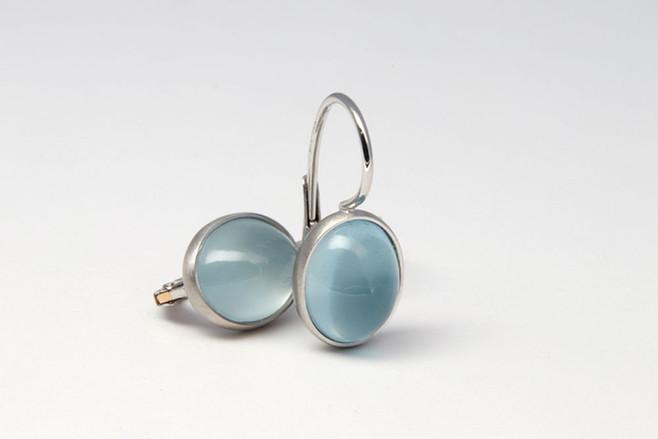 Aquamarin Ohrringe (klein)