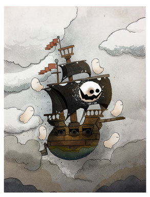 Ghost ship rising