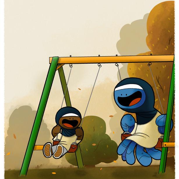 Swing Setting