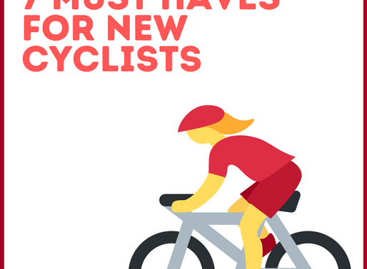 4 Tips for New Cyclists + 7 Must Have Items For Your New Ride