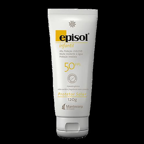 EPISOL INFANTIL FPS50 120g - Mantecorp