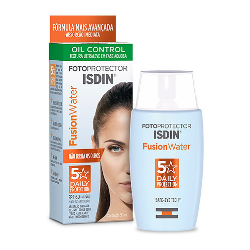 FUSION WATER OIL CONTROL 5 STAR DAILY PROTECTION FPS60 50ml - Isdin