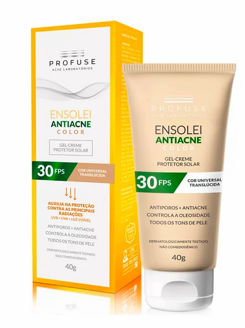 ENSOLEI ANTIACNE COLOR FPS30 40g - Profuse