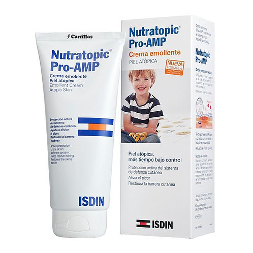 NUTRATOPIC PRO-AMP CREME EMOLIENTE 204g - Isdin