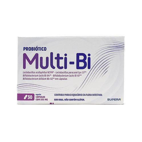 mULTI-BI 30 CÁPSULAS LACTOBACCILLUS - AUMENTA IMUNIDADE CORPO