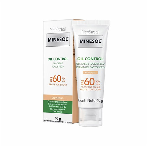 MINESOL OIL CONTROL GEL CREME FPS60 COLOR 40g - Neostrata