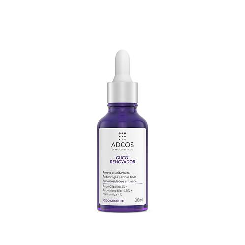 Sérum Facial Adcos Glico Renovador com 30ml