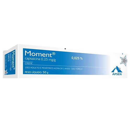 MOMENT 0,25mg/g CREME 50g - Apsen