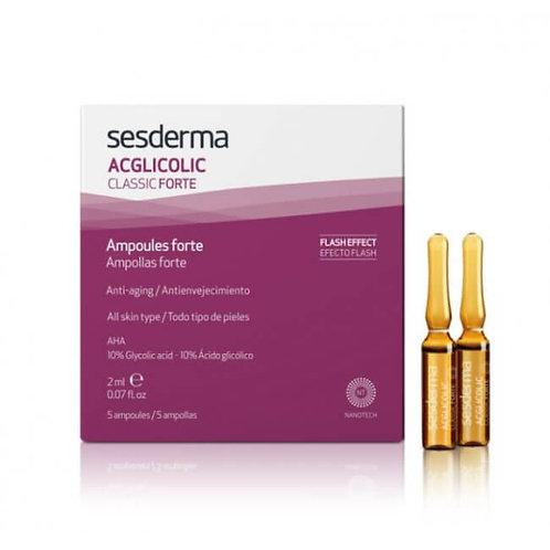 ACGLICOLIC CLASSIC AMPOLAS FORTE 5x2ml - Sesderma
