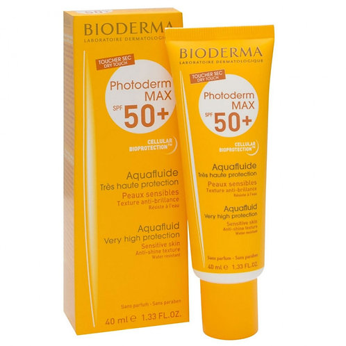 PHOTODERM MAX AQUAFLUID FPS50+ 40ml - Bioderma