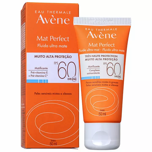 AVÈNE MAT PERFECT FPS60 SEM COR 50ml