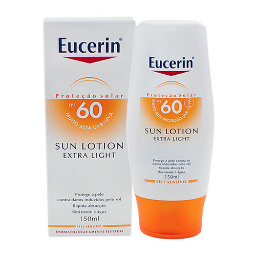 EUCERIN SUN LOTION EXTRA LIGHT FPS60 150ml