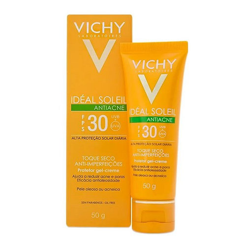 IDEAL SOLEIL ANTIACNE FPS30 40g - Vichy