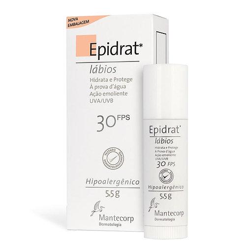 EPIDRAT LABIAL FPS30 5.5g - Mantecorp