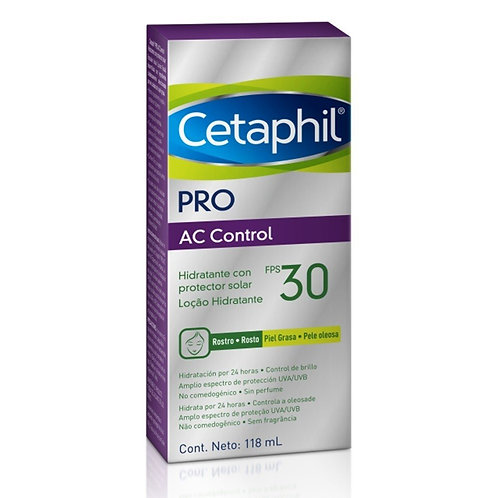 CETAPHIL PRO AC CONTROL FPS30 LOÇÃO HIDRATANTE 118ml  - Galderma