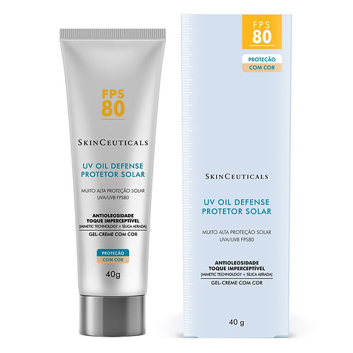 UV OIL DEFENSE COM COR FPS80 40g - Skinceuticals