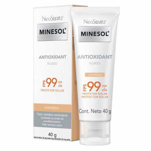MINESOL ANTIOXIDANT UNIVERSAL FLUIDO FPS99 40g - Neostrata