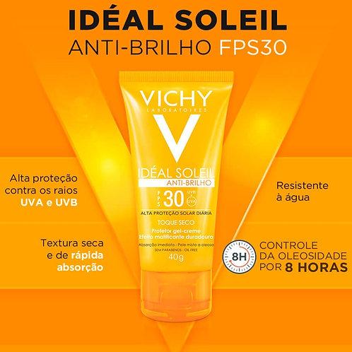 IDEAL SOLEIL ANTIBRILHO FPS30 40g - Vichy